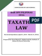 Pals Tax Law 2016