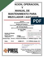 Manual Del Agitador