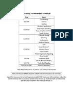 16-17 tournament schedule