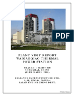 Copy of Plant Visit Report to WGQTPP Shnaghai, China