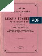 corso teorico-pratico di lingua ungherese ad uso scolastico e privato