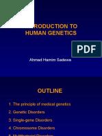 Pendahuluan Genetikamanusia S2 Sept2012