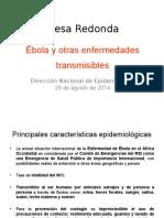 Mesa Redonda Epidemiologia
