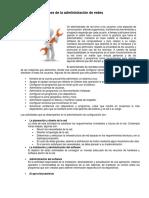 Unidad I.- Funciones de La Administración de Redes