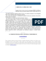 Fisco e Diritto - Corte Di Cassazione Ordinanza n 8823 2010