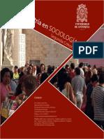 Maestría en Sociología - Segunda cohorte
