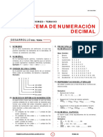 Sistema de numeración decimal
