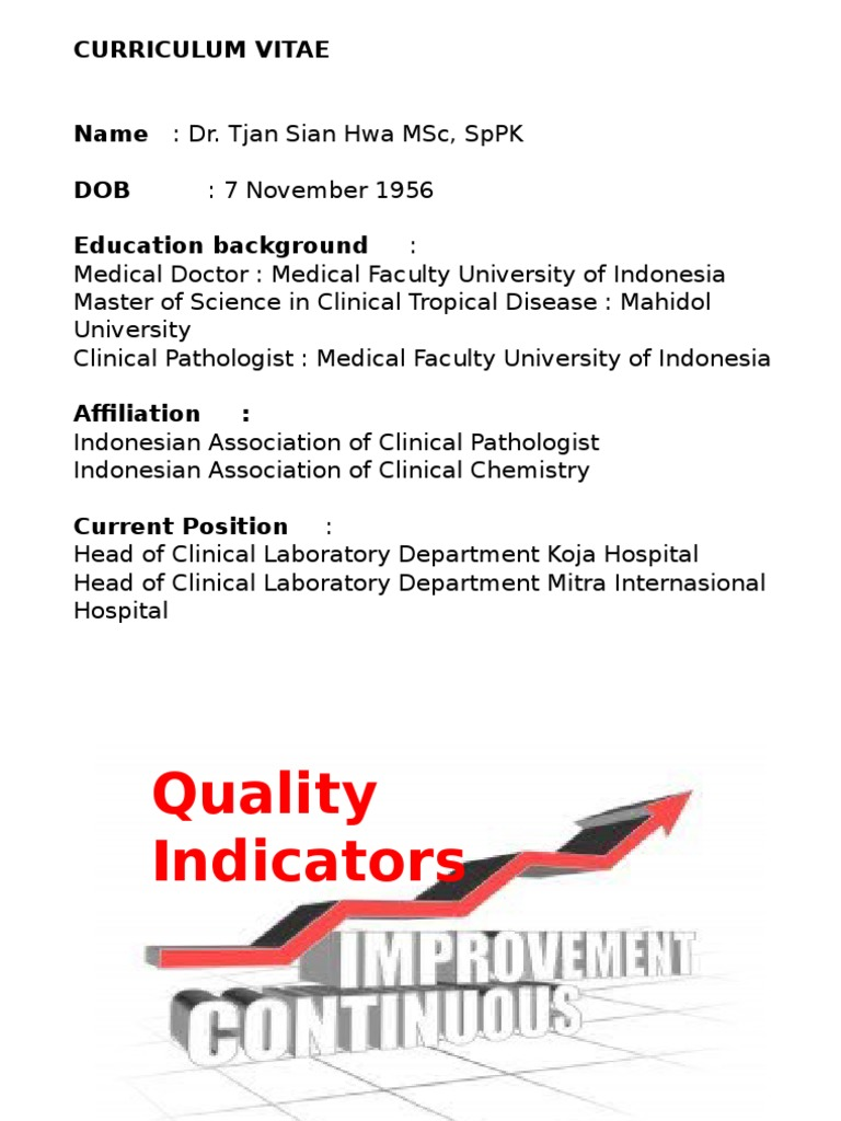 Methods To Measure Quality Of Care And Quality Indicators