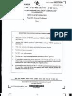 CSEC Jan 2016 - Office Administration - Paper 02.pdf