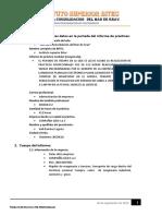 Formato de Informe de Practicas Pre Profesionales modulo 2
