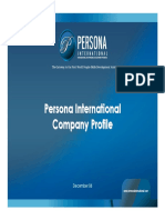 Persona International - Egypt - Company Profile Dec08