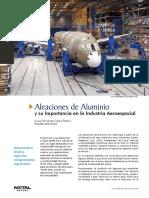 Aleaciones de Aluminio en la Era Espacial