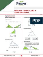 ÁREA DE REGIONES TRIANGULARES Y CUADRANGULARES