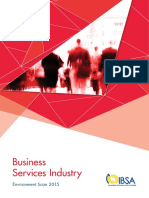 IBSA Environment Scan 2015 Business Services Industry