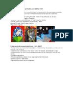 Características Periodo Azul 1901 Picasso