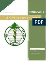 Libreta Semiologia Completa 3.1