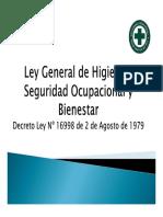 Ley General de Higiene y Seguridad Ocupacional