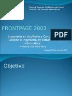 Guia de Frontpage 2003