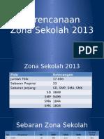 Perencanaan Zona Sekolah 2013