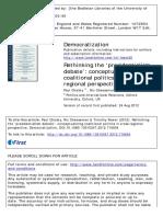 Rethinking the Presidentialism Debate