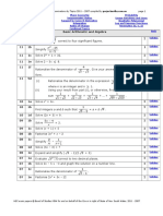 2011 - 2007 Mathematics HSC - All Topics