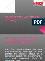National Multi Commodity Exchange