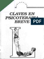Claves en Psicoterapia Breve-Shazer
