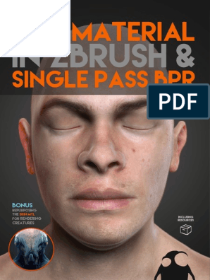 A Guide to - Skin Material With ZBrush and Single Pass