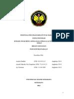 PKM-K Bukado (Buah Beku Aneka Rasa) Sebagai Alternatif Camilan Sehat