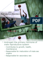 Drugs for Men's Health and Reproductive Disorders Ch57 (Student)