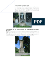Monumentos de Totonicapan