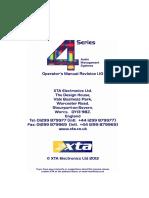 4 Series Manual Version 1p10