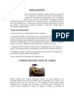 Maquinaria y Equipos Ingenieria Civil