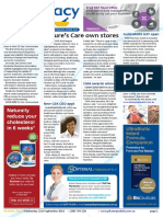Pharmacy Daily for Wed 21 Sep 2016 - Natures Care premium stores, PSA ticks pharmacovigilance, Intern of the Year nominations open, Health and Beauty and much more