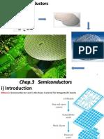 Chap.3 Semiconductors