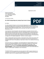 Letter to FWHA on 520 bridge