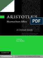 Jon Miller Aristotles Nicomachean Ethics a Critical Guide 2011