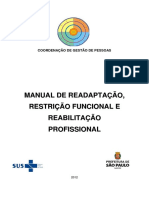 Manual de Reabilitacao