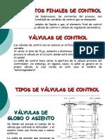 7. Válvulas de Control