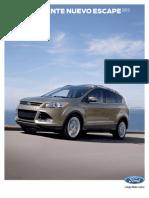 Manual Ford Escape 2013