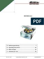 Rotofix 32a Manual