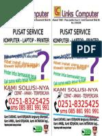 Brosur Service komputer