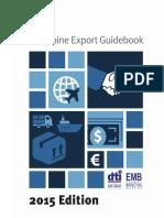 Philippine Export Guidebook 2015 Edition