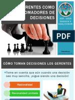 Los Gerentes Como Tomadores de Decisiones - Parte 2