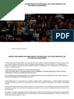 Diretrizes e Estratégias do Plano Mnicipal de Cultra de  Saquarema