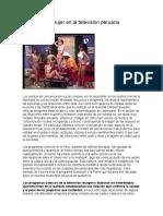 Mágenes de Mujer en La Televisión Peruana