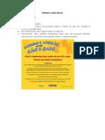 Folhetos Explicativos - Caderno de Produção