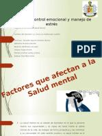 factores que afectan a la salud mental