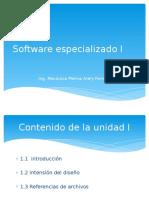 Software Especializado Unidad 1