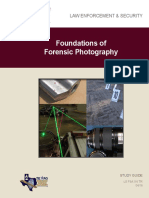 FSA116 Foundations of Forensic Photography - Study Guide